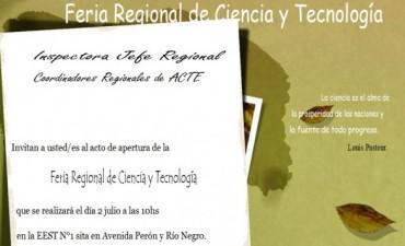 Feria Regional de Ciencia y Tecnología