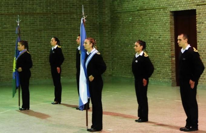 Acto por la Revolución de Mayo en el Instituto 6001 de Colonia Hinojo