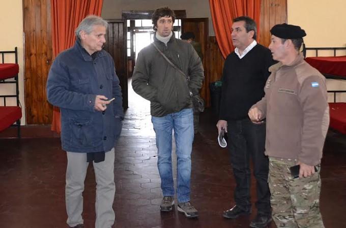 Javier Castrilli está en Olavarría