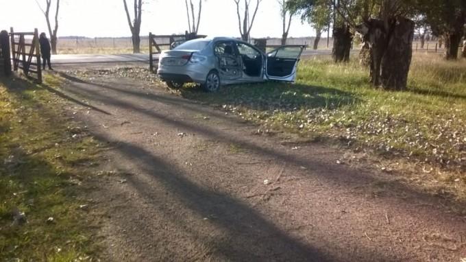 Continúa en terapia intensiva la mujer accidentada en Ruta 51