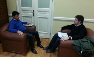 El Subsecretario de Comunicación Municipal se reunió con el Director de Relaciones Institucionales del Sistema Federal de Medios y Contenidos Públicos