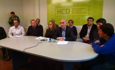 Rodríguez: 'De la seguridad no se encarga ni el presidente ni el Concejo Deliberante'