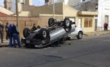 Accidente en Riobamba y Necochea