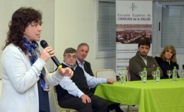 Comenzó la actividad de la Ministra Ortíz en Olavarría