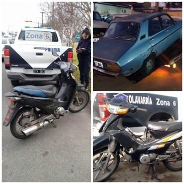 Varios vehículos retenidos en las últimas horas