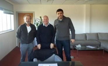 El Intendente se reunió con Carlos Mac Allister