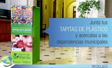 Plan Olavarría Verde: campaña de recolección de tapitas plásticas
