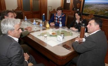 Azul: el Intendente recibió a autoridades nacionales del PAMI