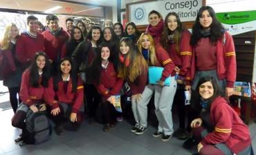 Estudiantes de las escuelas Esquiú y Rosario recorrieron la FACSO