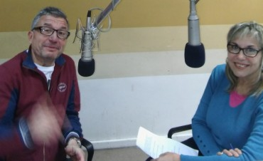 En Tarde Mágica, un locutor que nació en Radio Olavarría