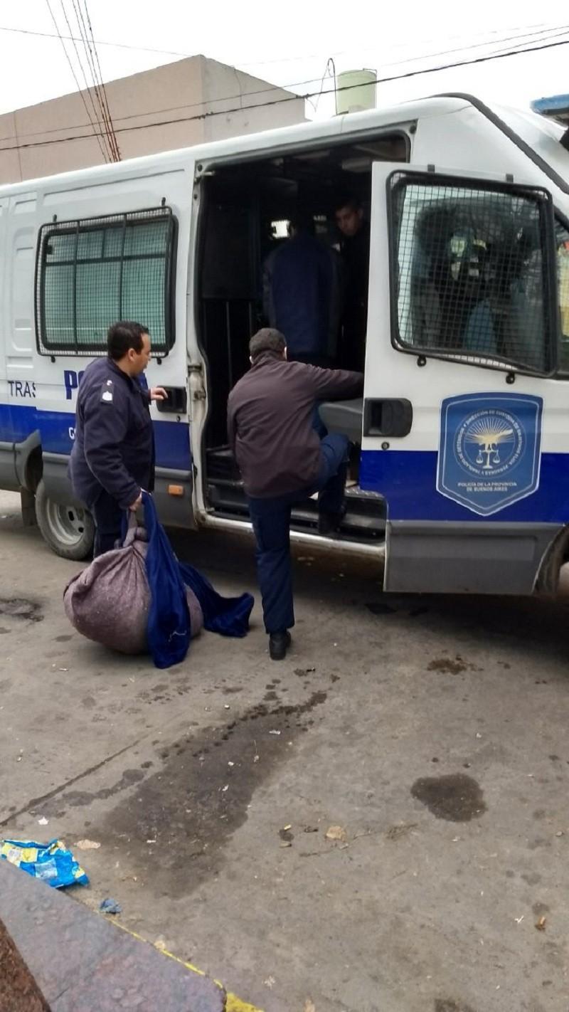 Trasladan a Tapalqué a dos detenidos