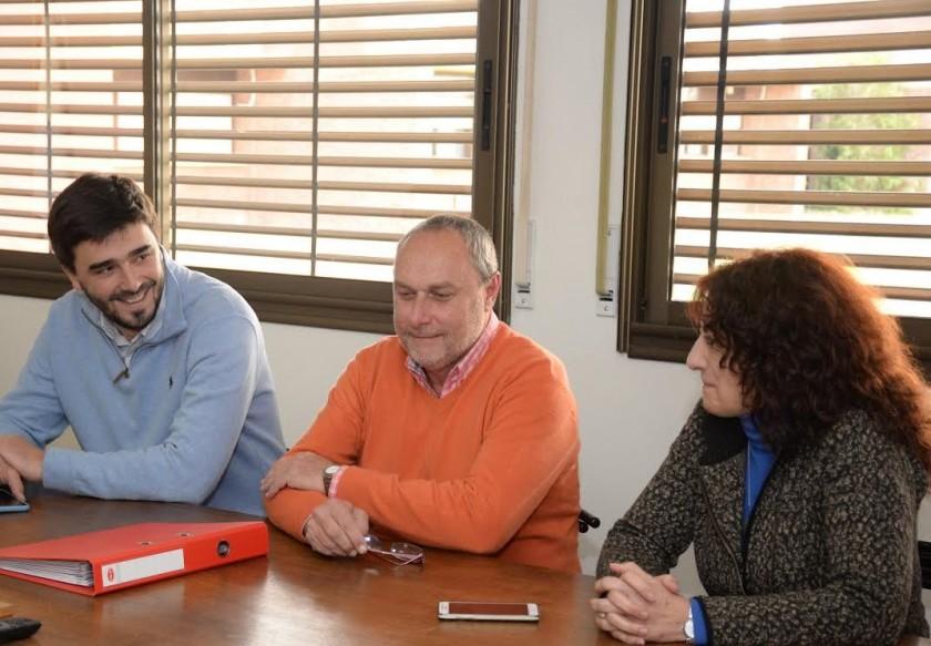 Galli se reunió con las autoridades del Complejo Universitario