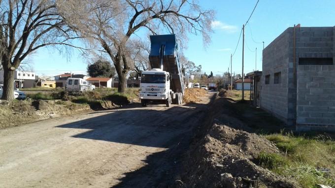 Continúan los trabajos de mantenimiento de calles