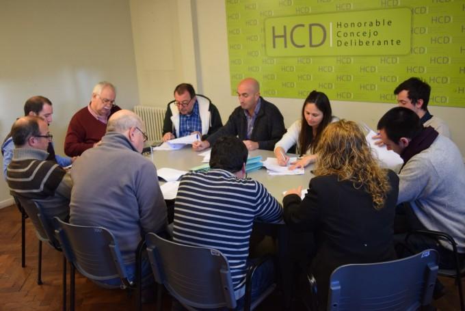 El Concejo Deliberante sesiona en Hinojo