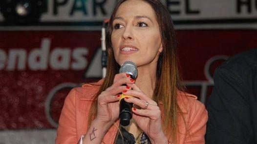 Mayra  Mendoza brindará una charla abierta