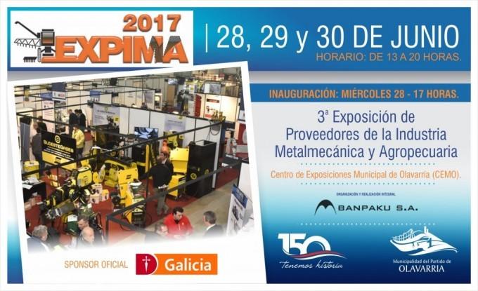 Expima: está en marcha la exposición para los sectores metalmecánico y agropecuario