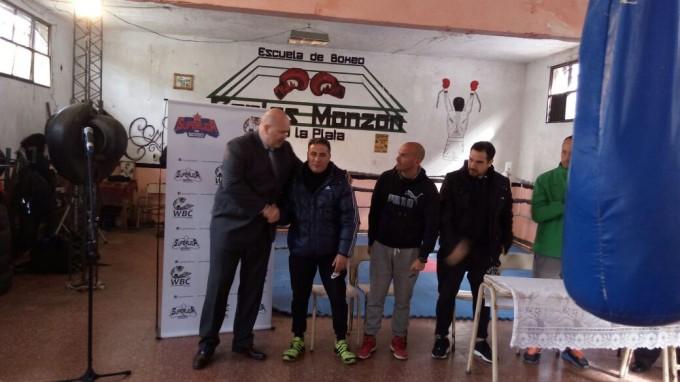 Convenio de cooperación del S.P.B para la Asociación Boxeo Sin Cadenas