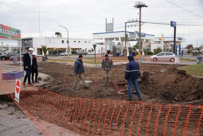 En Olavarría continúan las obras