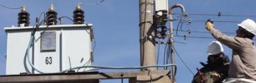 Por falla en un transformador, quedó sin energía casi toda la zona rural