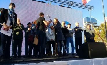 Emotivo homenaje a Martinez Boero en Bolívar