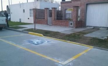 Estacionamiento exclusivo para personas con movilidad reducida