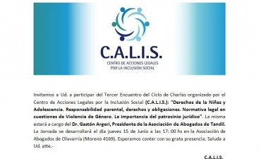 Ciclo de disertaciones de CALIS