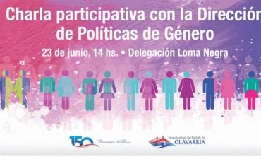 Charla sobre Políticas de Género en Loma Negra