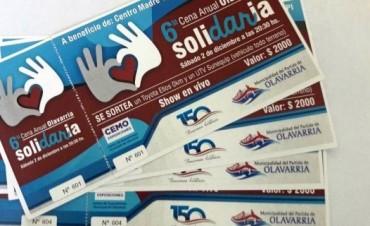 Continúa la venta de tarjetas para la Cena Solidaria
