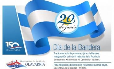 El intendente Galli encabezará el acto del Día de la Bandera