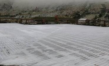 Nevó en Sierra de la Ventana