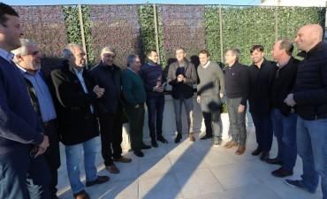 Intendentes de la región en reunión con Randazzo