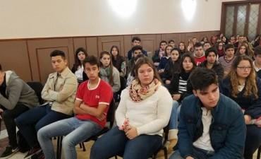 Se presentan los concejales estudiantiles 2017