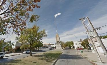 En Coronel Suárez hay un mástil de 40 metros