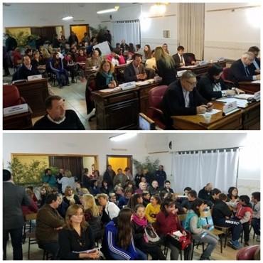 Hinojo: Con aroma a elecciones, pasó la sexta sesión ordinaria del Concejo Deliberante