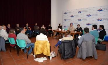 Desarrollo Económico: reunión con delegados