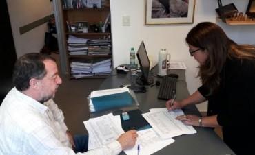 Saúl Bajamón presentó la lista de Encuentro Popular por Tierra Techo y Trabajo