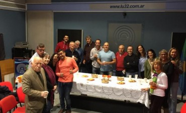 Festejos en Radio Olavarría