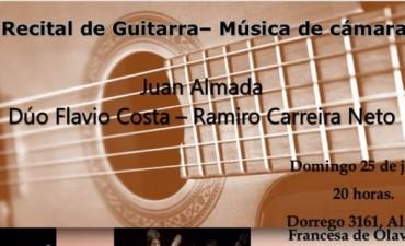 Recital de guitarra - música de cámara en la Alianza Francesa