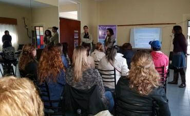 Importante convocatoria en la charla de Políticas de Género en Loma Negra