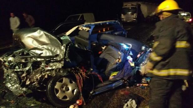 Una mujer fallecida en un accidente en la ruta 226 a la altura de Espigas