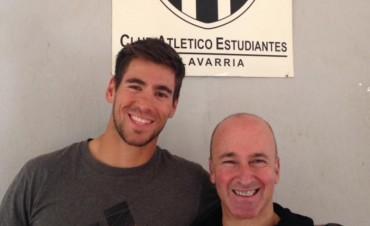 Canotaje: Agustín Vernice entrena pensando en el Mundial