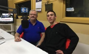 Radio Olavarría recibió a Nahuel en el marco de Dos Días en tu Futuro