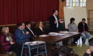 Concejales dictaron una capacitación a los nuevos Concejales Estudiantiles