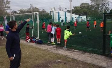 Fútbol Interbarrial en el Eucaliptus