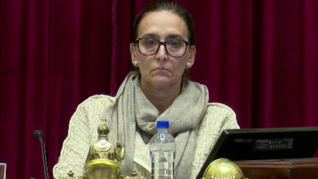 Finalmente, por no sentirse bien, la vicepresidenta Michetti no vino a Olavarría