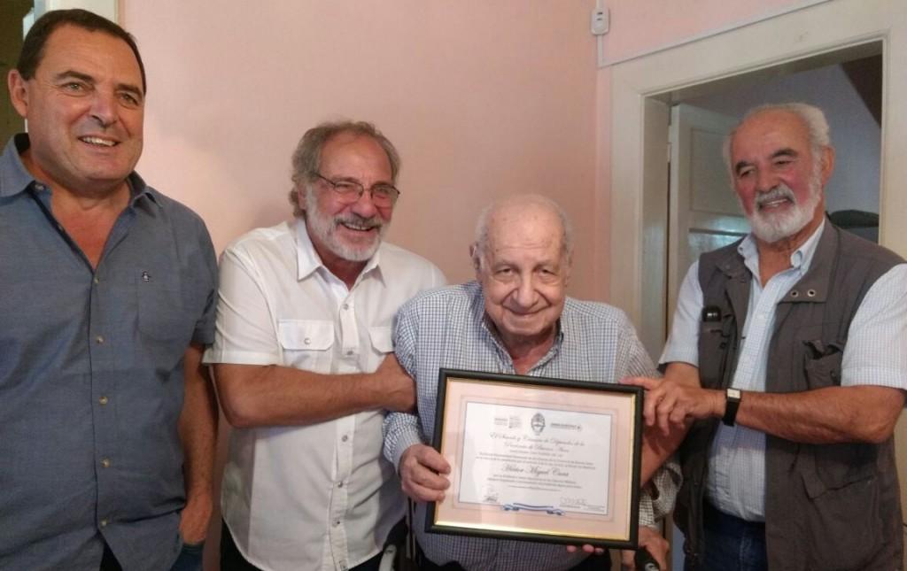 Falleció a los 89 años el prestigioso médico de nuestra ciudad Héctor Miguel Cura