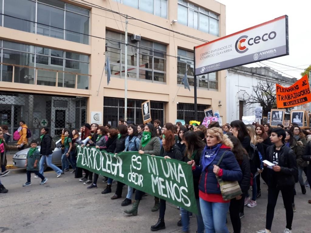 El CECO vuelve a decir #NiUnaMenos