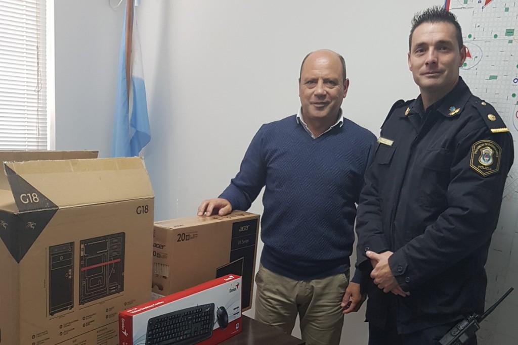 Equipamiento informático para la Policía Local