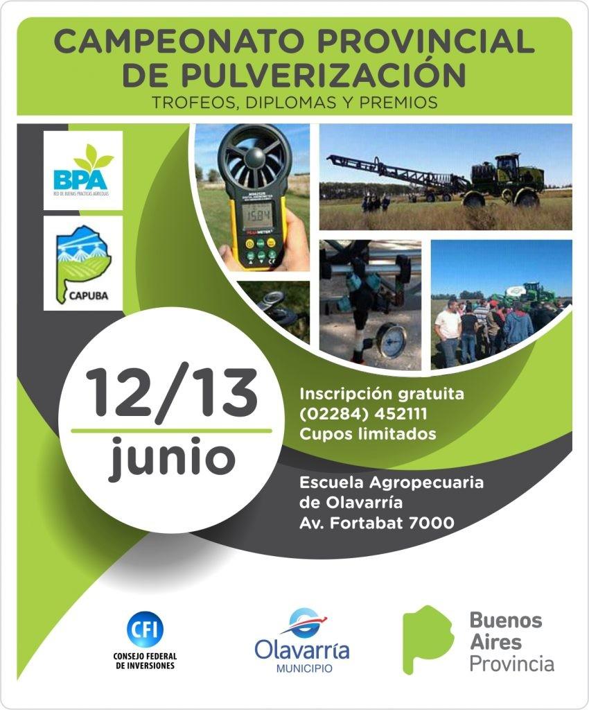 Campeonato Provincial de Pulverizaciones en Olavarría