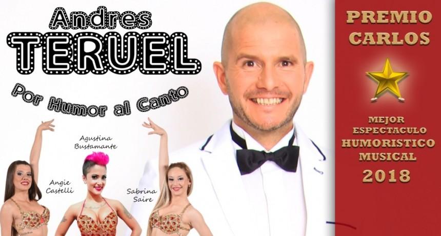 Andrés Teruel y el humor